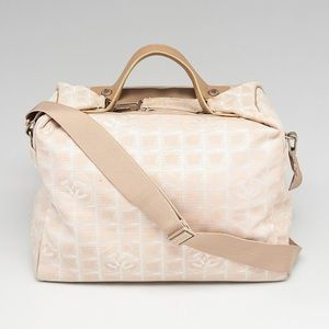 🌻FANTASTIC 🌻Beige Chanel Travel line Duffel bag